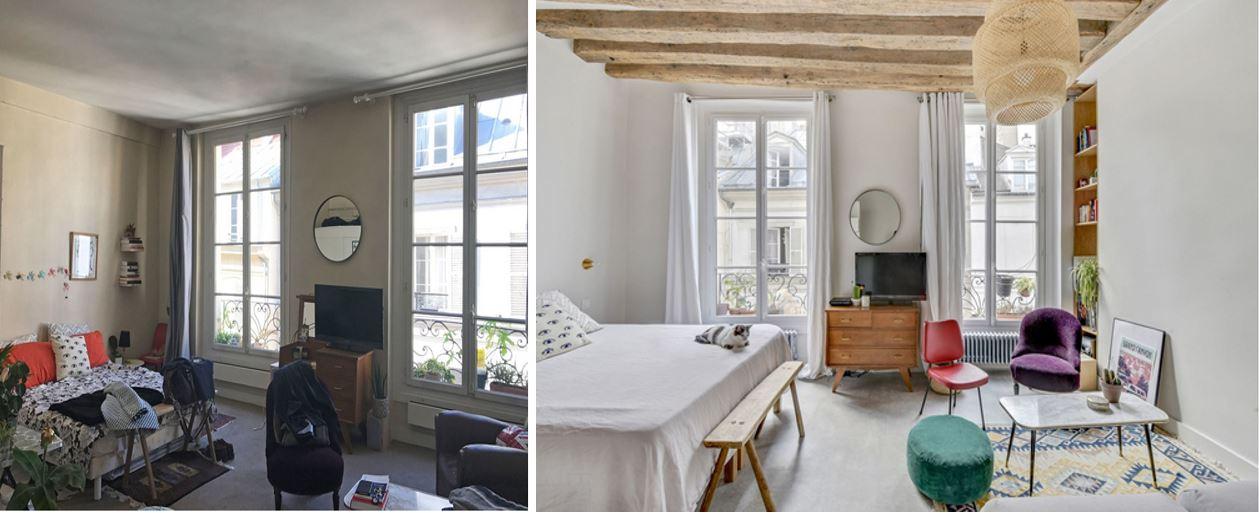 home staging, décor, décoration, design, chambre, à coucher, principale
